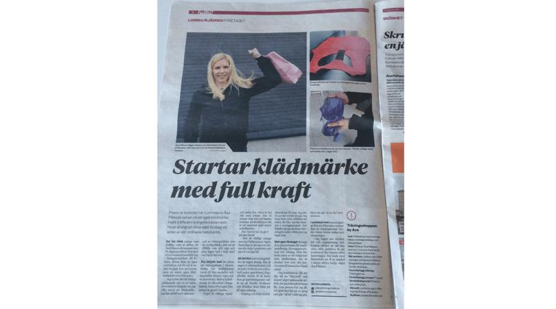POWER of Sweden uppmärksammas i Tidningen Hallå