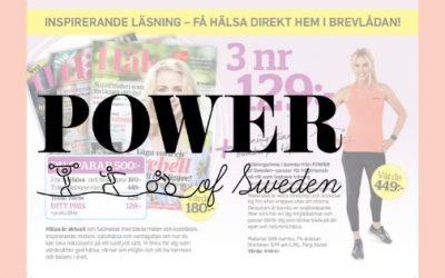 POWER of Sweden i spännande samarbeten